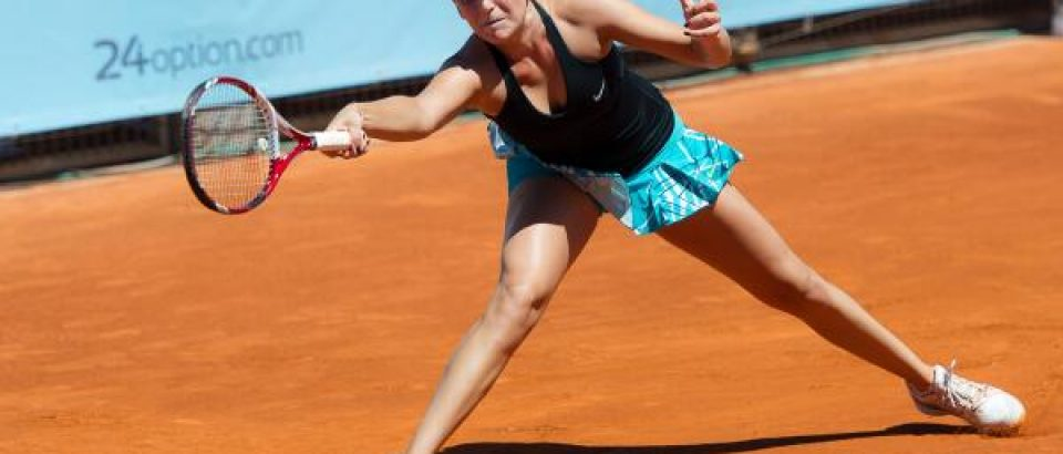 Donna won her fisrt game in Madrid.